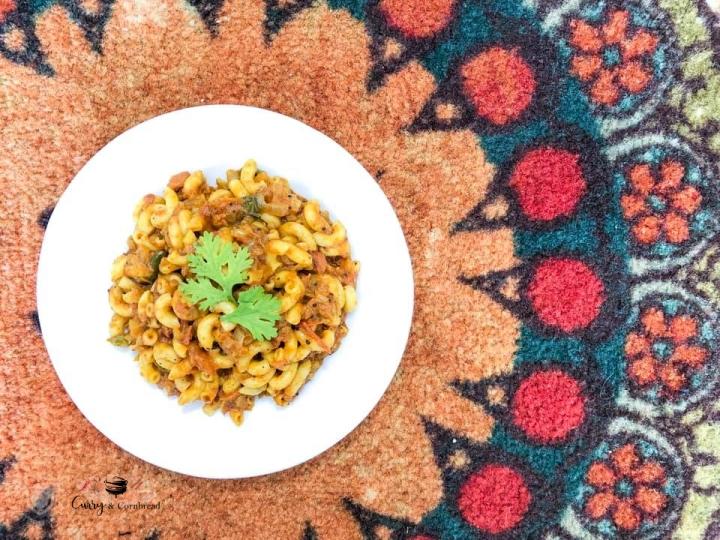 Spicy masala pasta