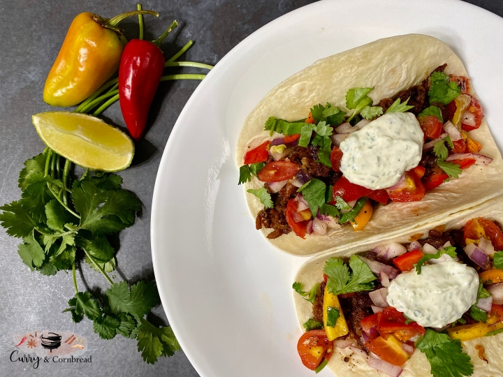 Chorizo Vegetarian Tacos