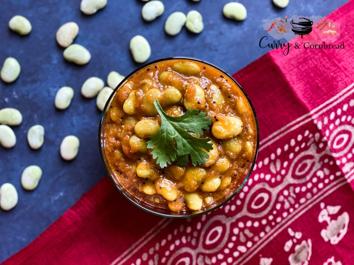Lima Bean Curry (Vaal or Butter Bean Curry)