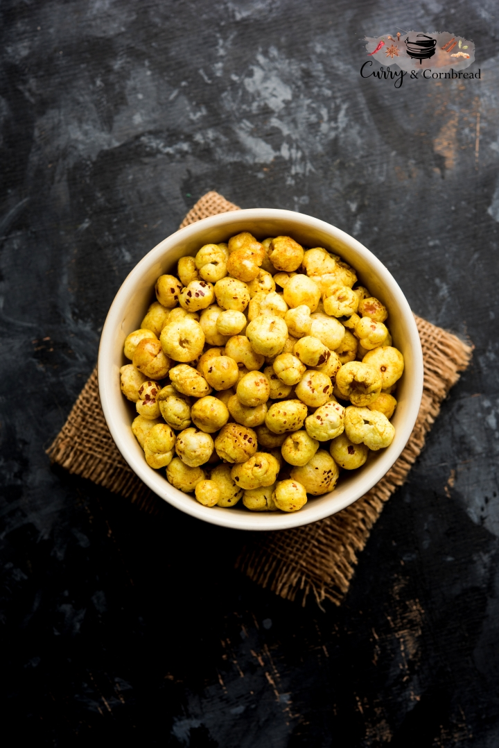 Makana Masala  (Roasted Savory Lotus Seeds)