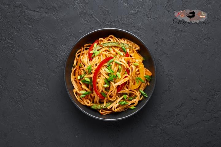 Vegetarian Schezwan Noodles