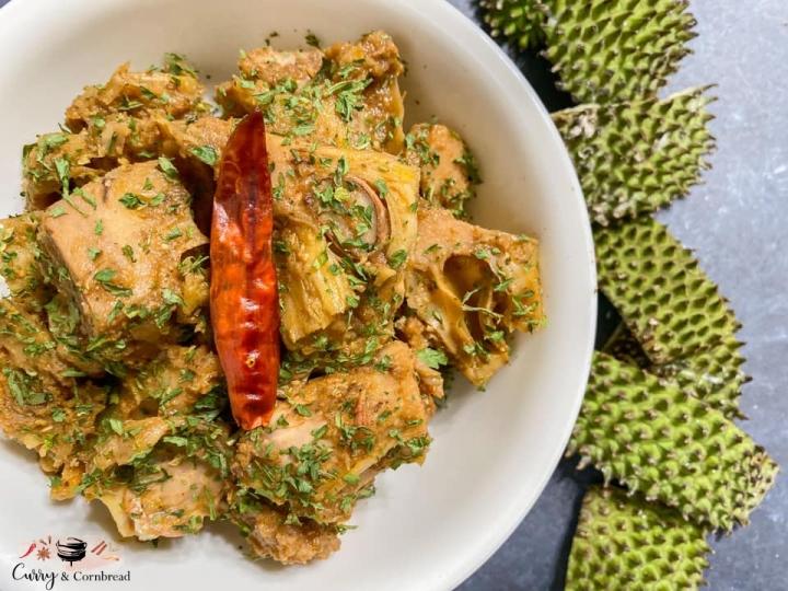 Jackfruit Curry (KathalCurry)